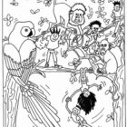 Jungle Coloring Pages (20)