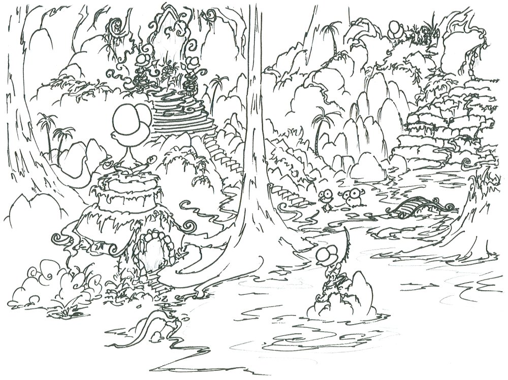 Jungle Coloring Pages 3 Coloring Kids Coloring Pages