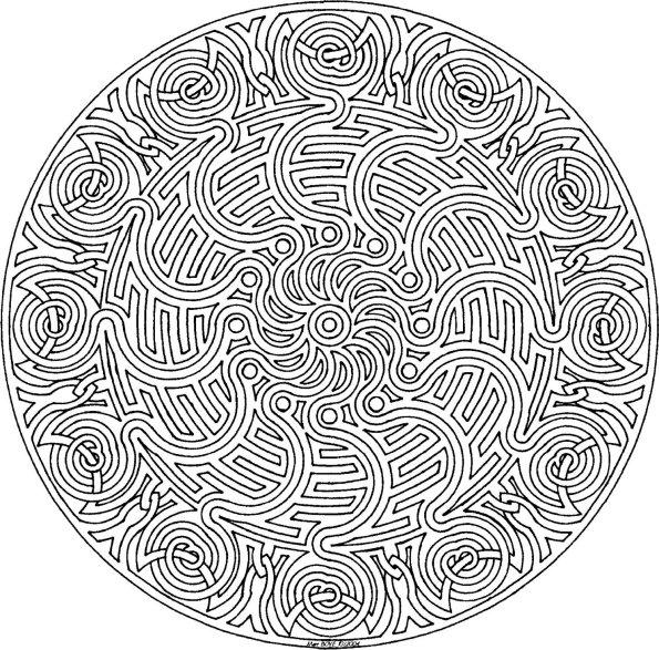 Mandala Coloring Pages (2)
