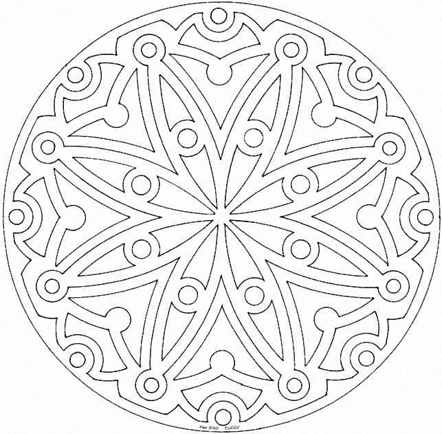 Mandala Coloring Pages (8)
