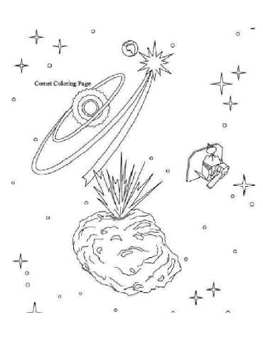 Meteor Coloring Pages3 Coloring Kids