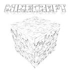 … Minecraft logo coloring page