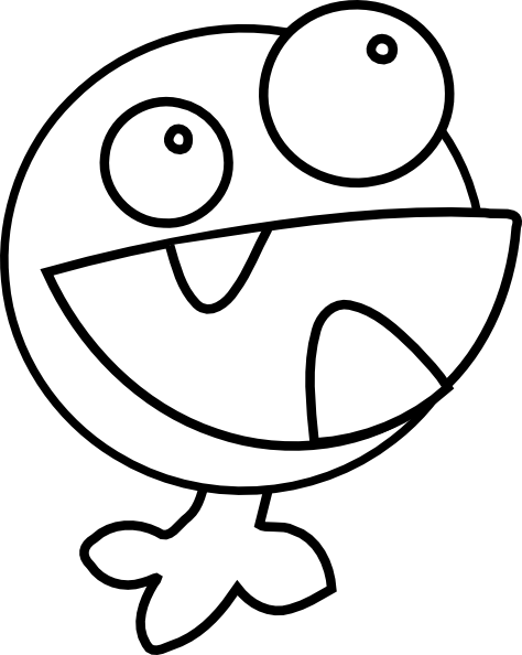 Monster Coloring Pages |coloringkids.org