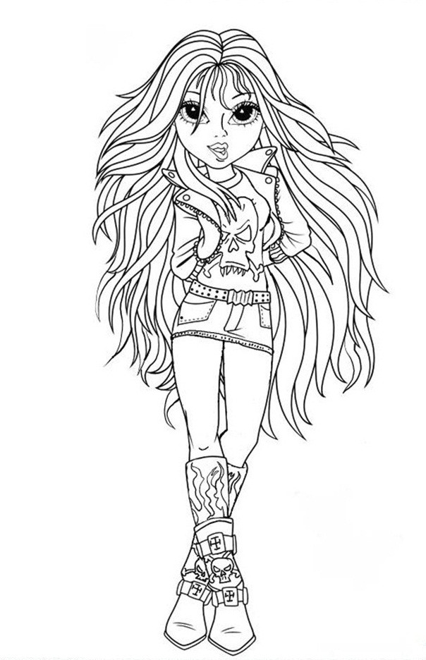 Moxie Girlz Coloring Pages (6)