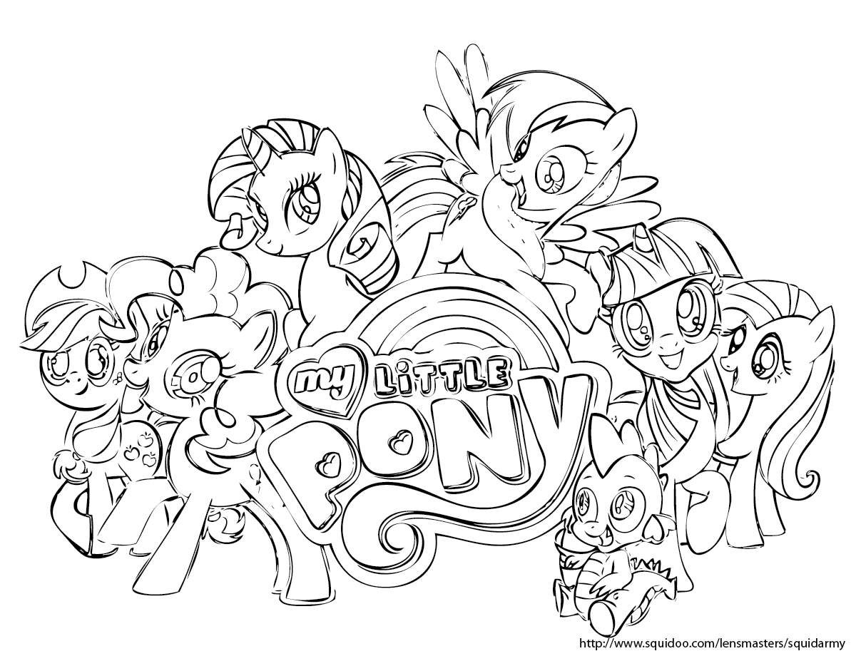 My alternate blog: My Little Pony Coloring pages