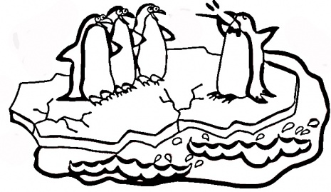 Penguin Coloring Pages (1)