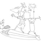Phineas and Ferb Coloring Pages (10)