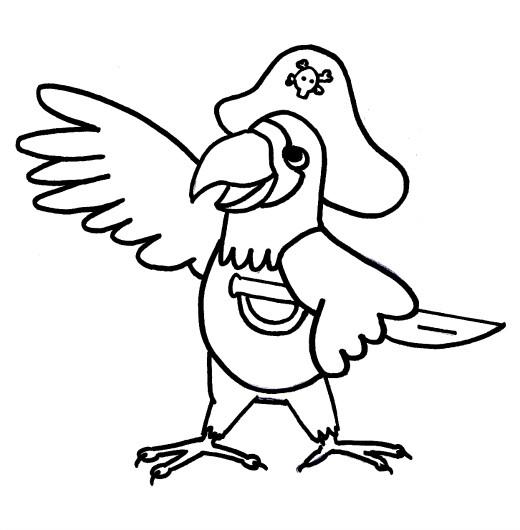 Pirate Coloring Pages-coloringkids.org