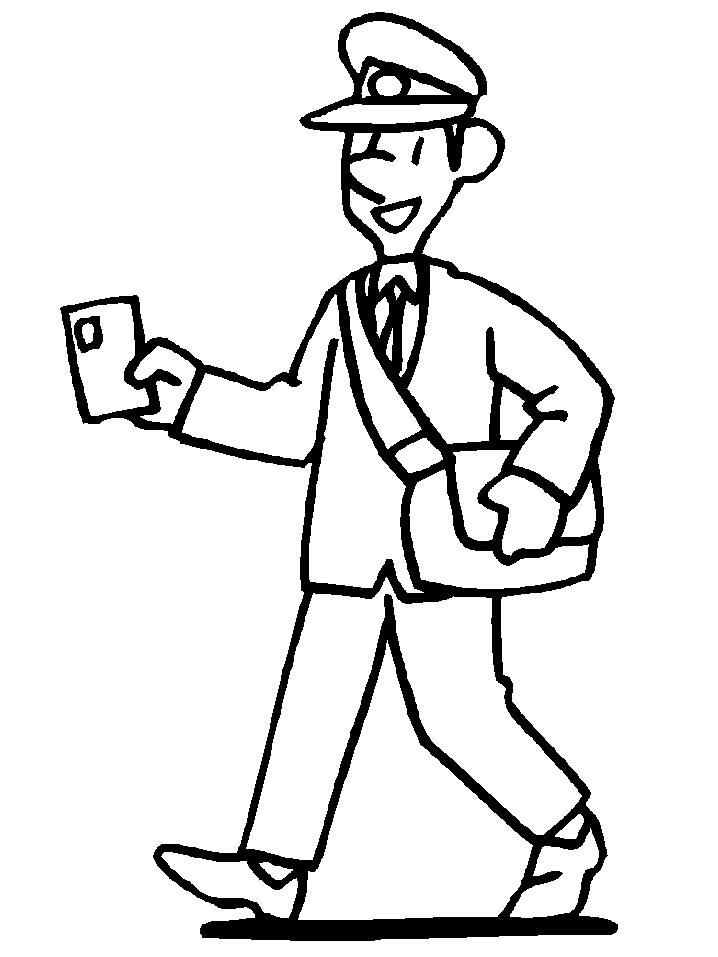 Postman Pat Coloring Pages (8)