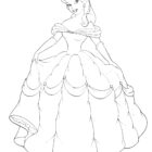 Princess Coloring Pages (10)