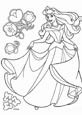Princess Coloring Pages (20)
