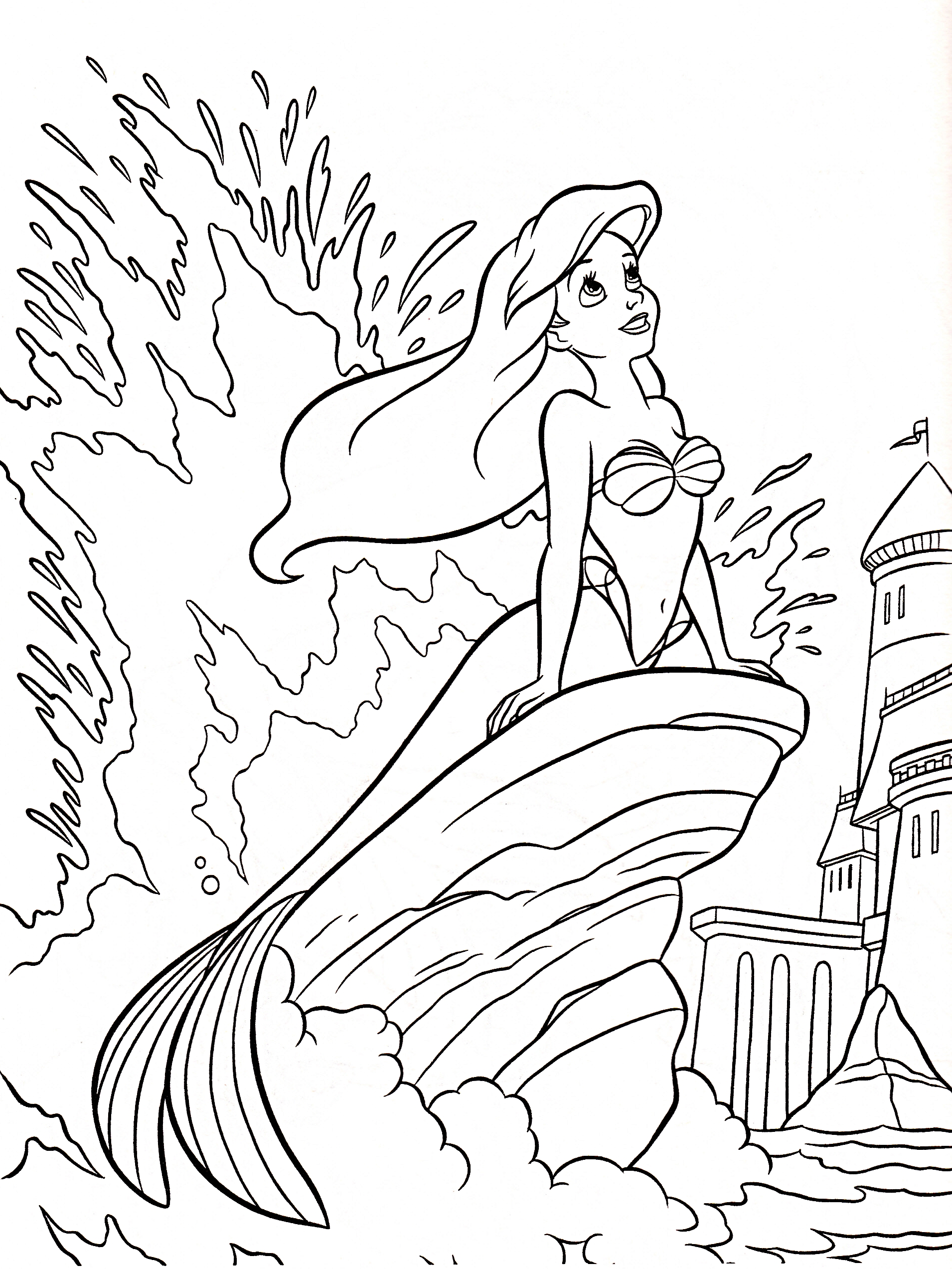 Princess Coloring Pages (24)