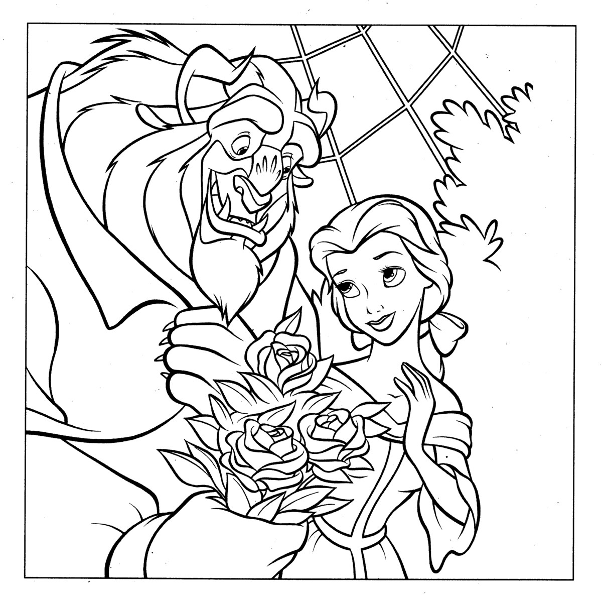 Princess Coloring Pages (25)