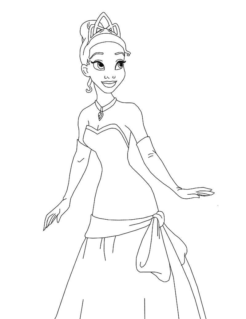 Princess Coloring Pages (26)