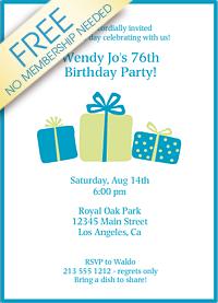 Download Printable Birthday Invitations (8)