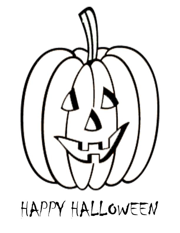 Pumpkin-Coloring halloween