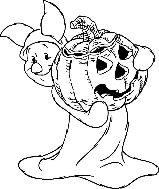 Pumpkin Coloring Pages-181
