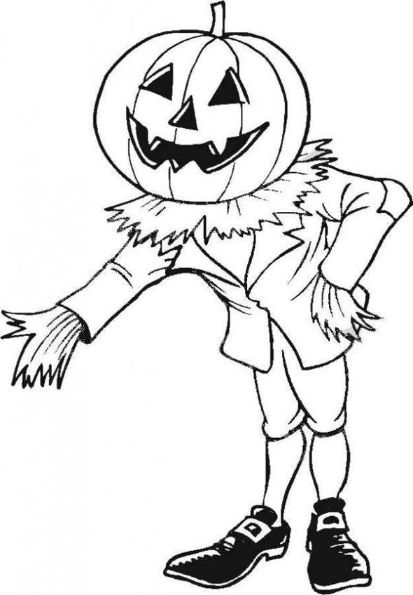 Pumpkin Coloring Pages (8)