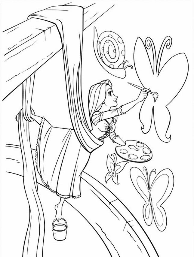Rapunzel Coloring Pages (10)