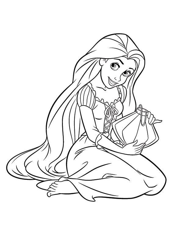 Rapunzel Coloring Pages (12)