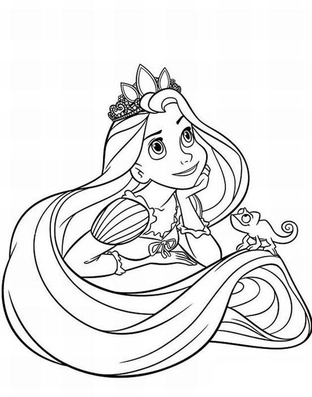 Rapunzel Coloring Pages (9)