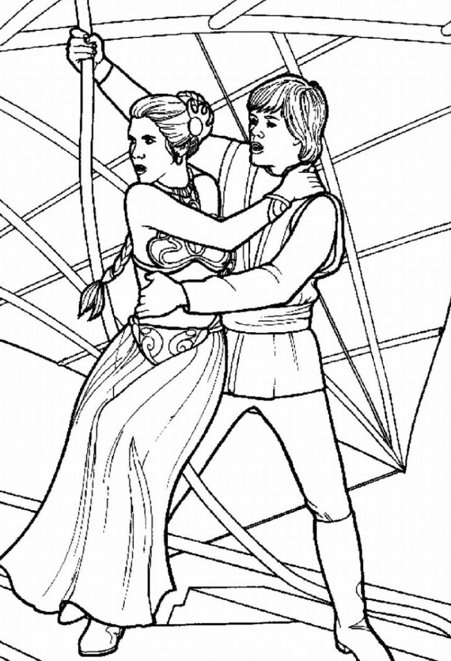remarkable Star Wars Coloring Pages : coloringkids.org