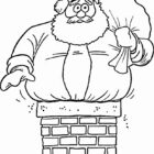 Santa Coloring Pages (24)
