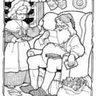 Santa Coloring Pages (26)