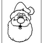 Santa Coloring Pages (6)