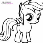 Scootaloo Coloring Pages | Coloring99.com
