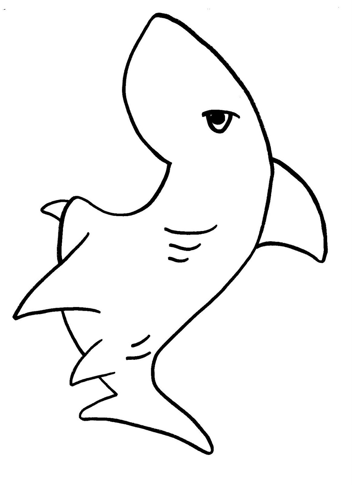 Shark Coloring Pages (11) Coloring Kids - Coloring Kids