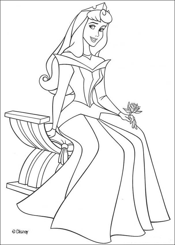 Sleeping Beauty Coloring Pages (1)