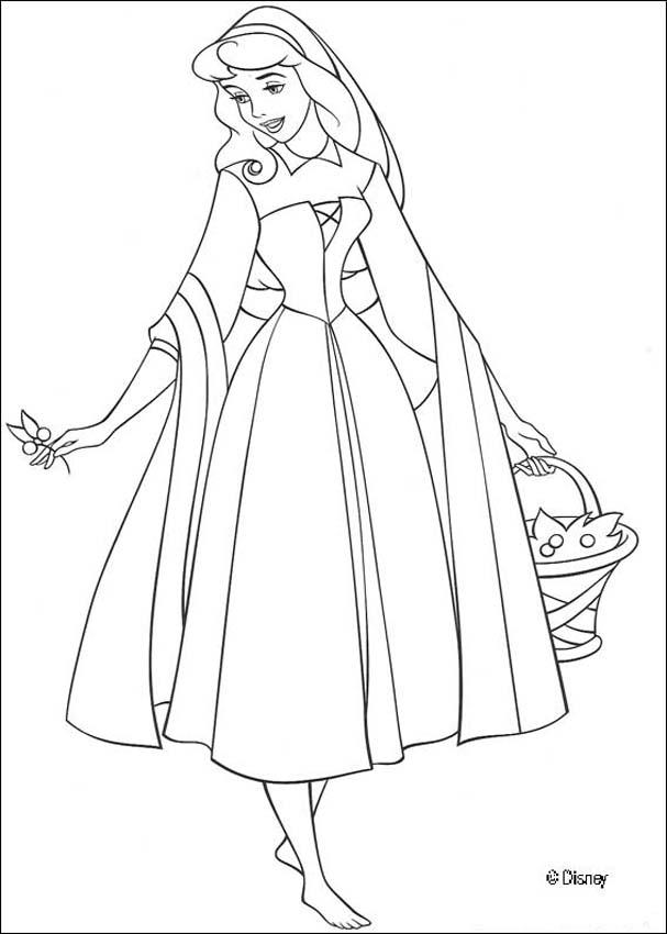 Sleeping Beauty Coloring Pages (3)