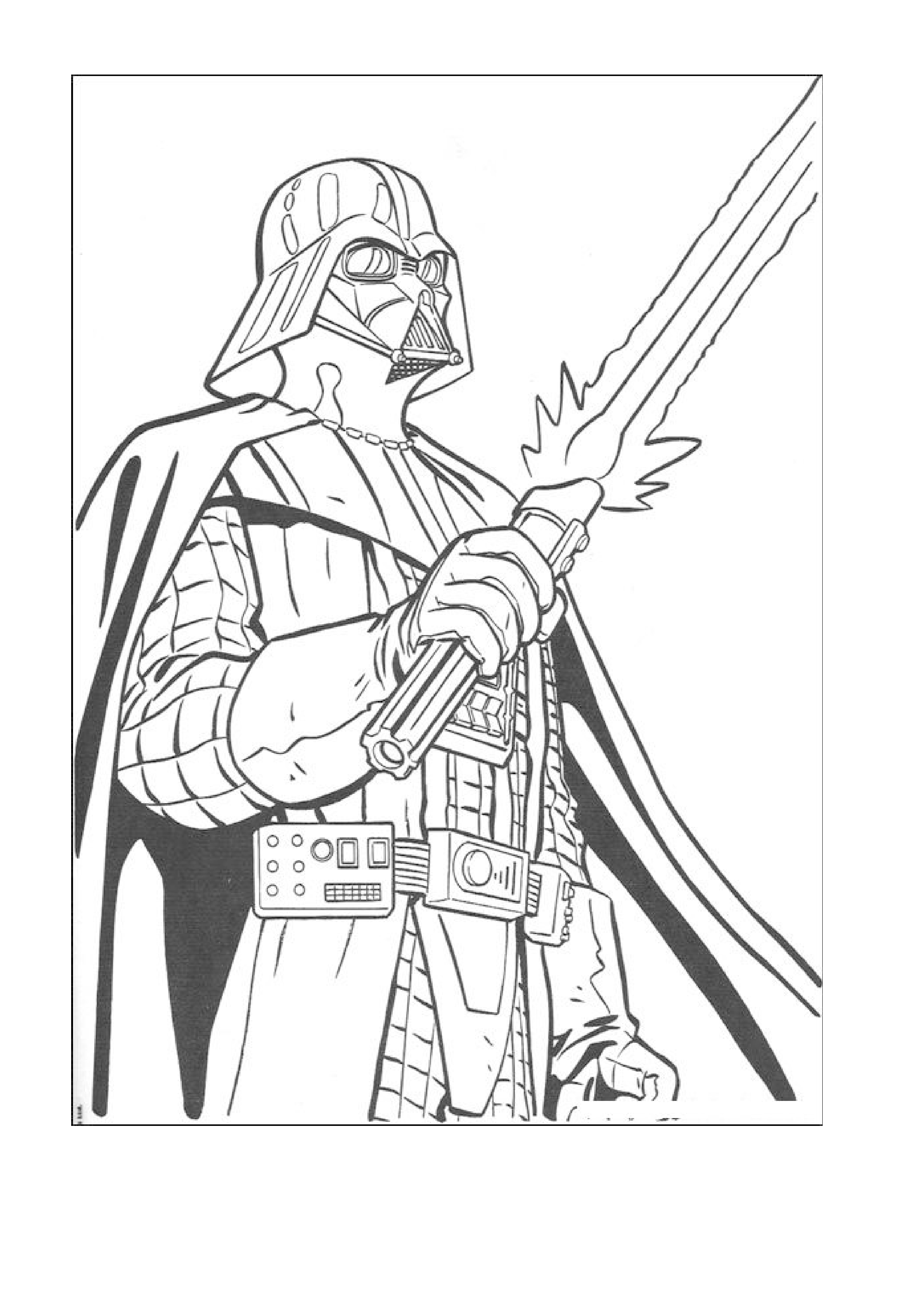 Starwars Coloring Page Coloring