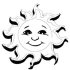 Sun Coloring Pages (2)
