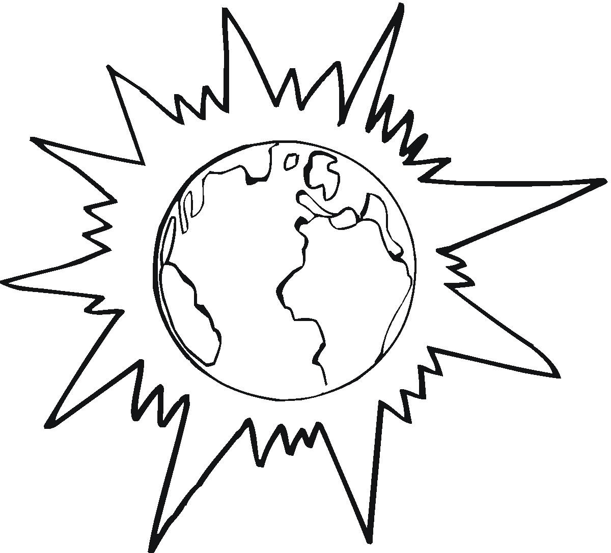 Sun Coloring Pages (8) - Coloring Kids