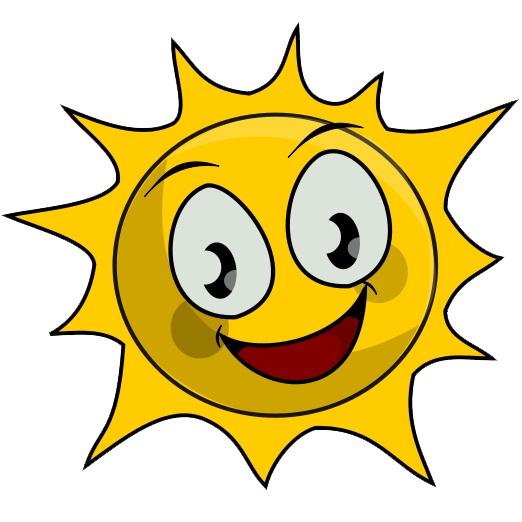 Sun Coloring Kids