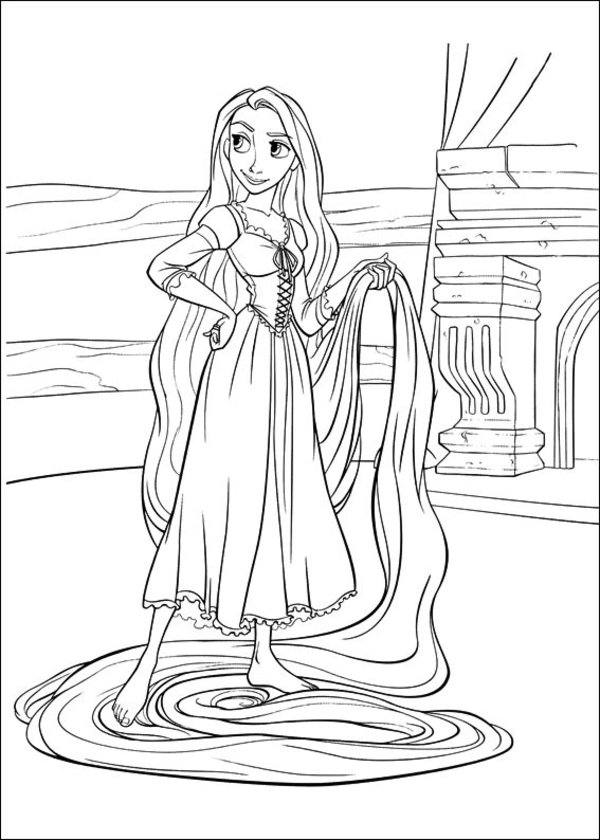 Tangled Coloring Pages (19)