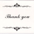 Thank You Cards (6)