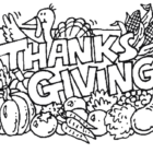Thanksgiving Coloring Pages (2)