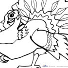 Thanksgiving Coloring Pages Pictures