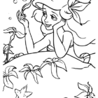 The Little Mermaid Coloring Pages (1)