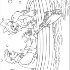The Little Mermaid Coloring Pages (4)