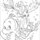 The Little Mermaid Coloring Pages (5)