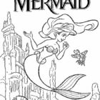 The Little Mermaid Coloring Pages (6)