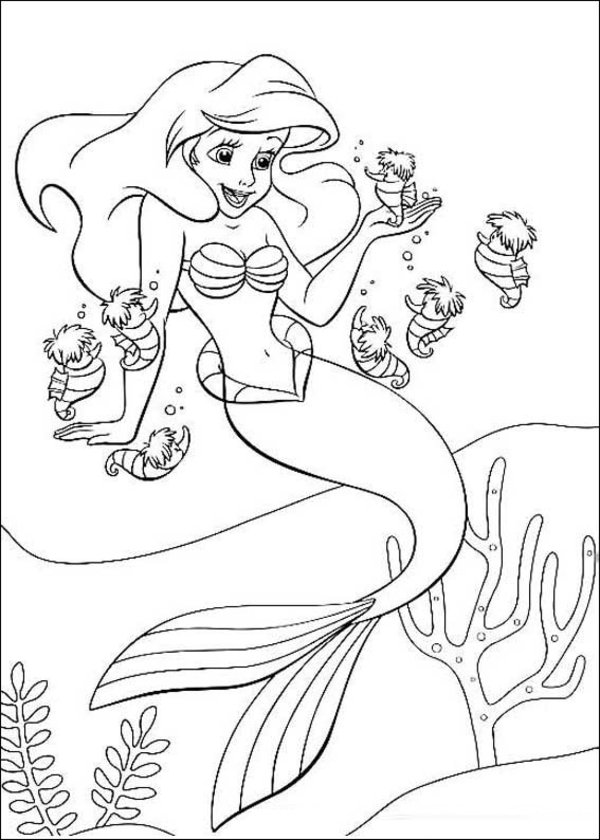The-Little-Mermaid-Coloring-Pages1