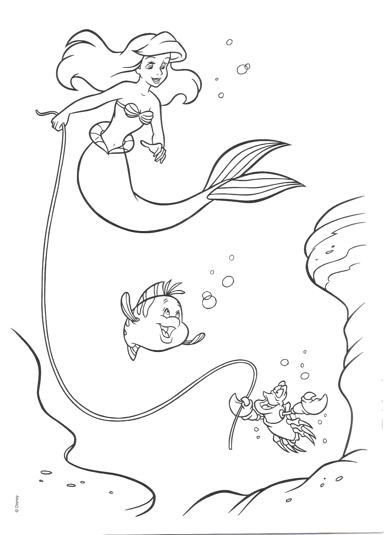 The-Little-Mermaid-Coloring-Pages8
