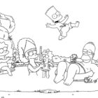 The Simpsons Coloring Pages (4)
