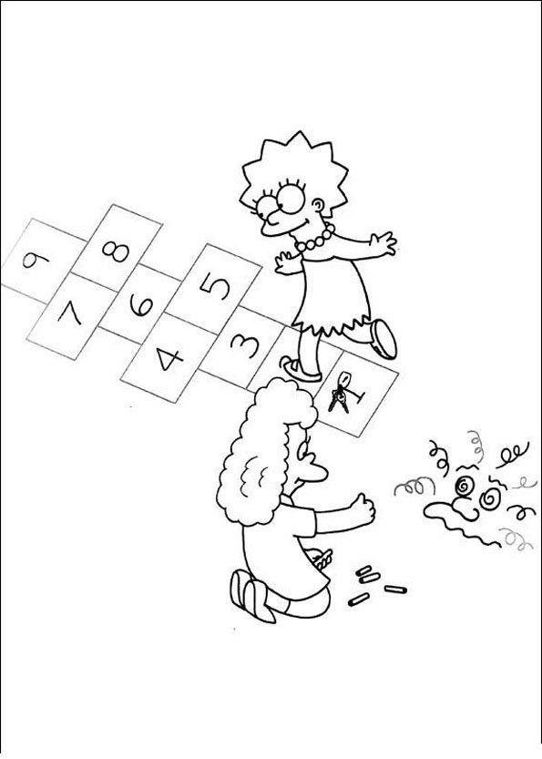 The-Simpsons-Coloring-Pages1
