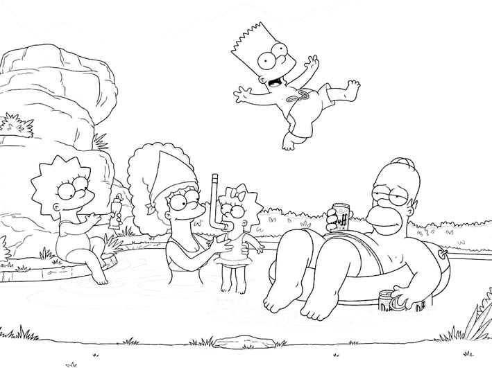 The-Simpsons-Coloring-Pages11